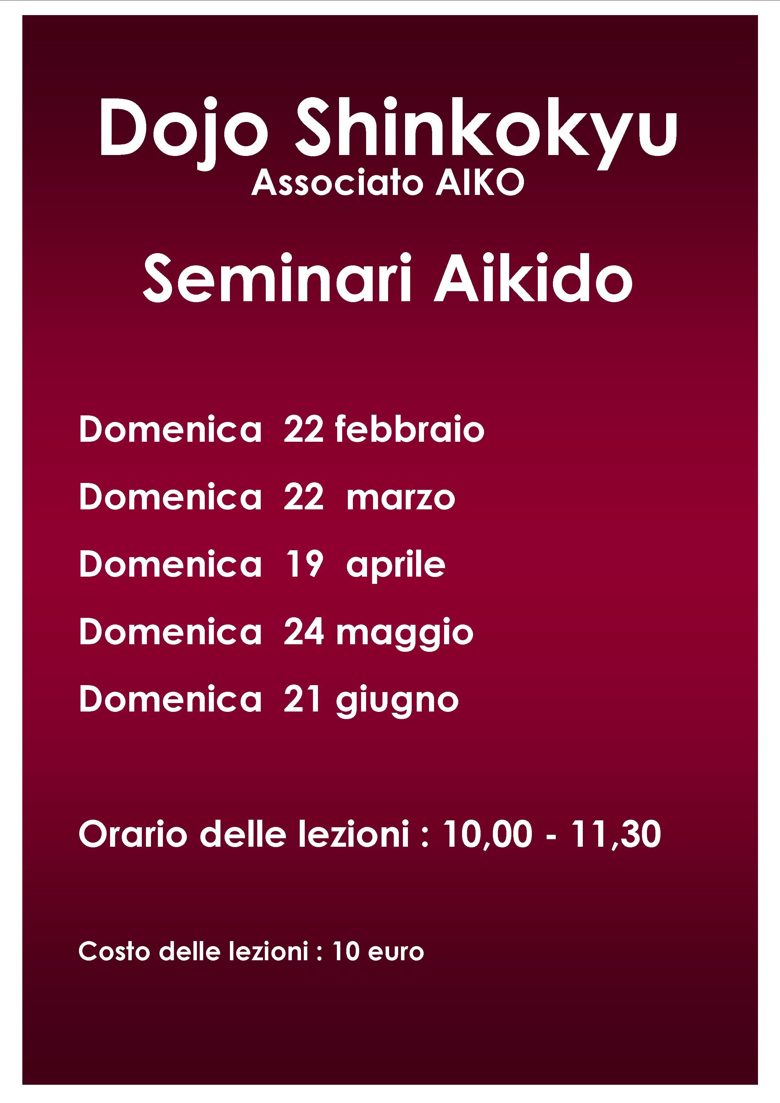aikido roma seminari