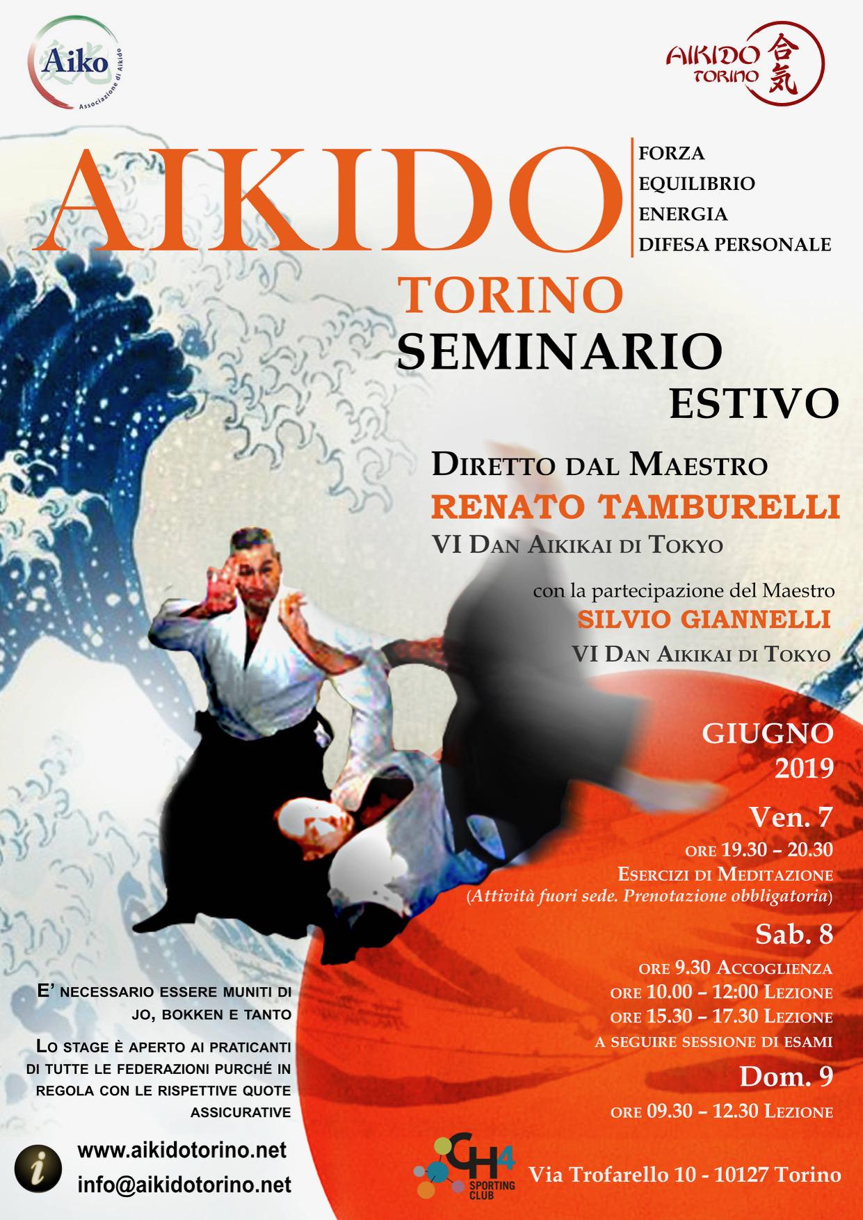 seminario aikido torino arte marziale tamburelli