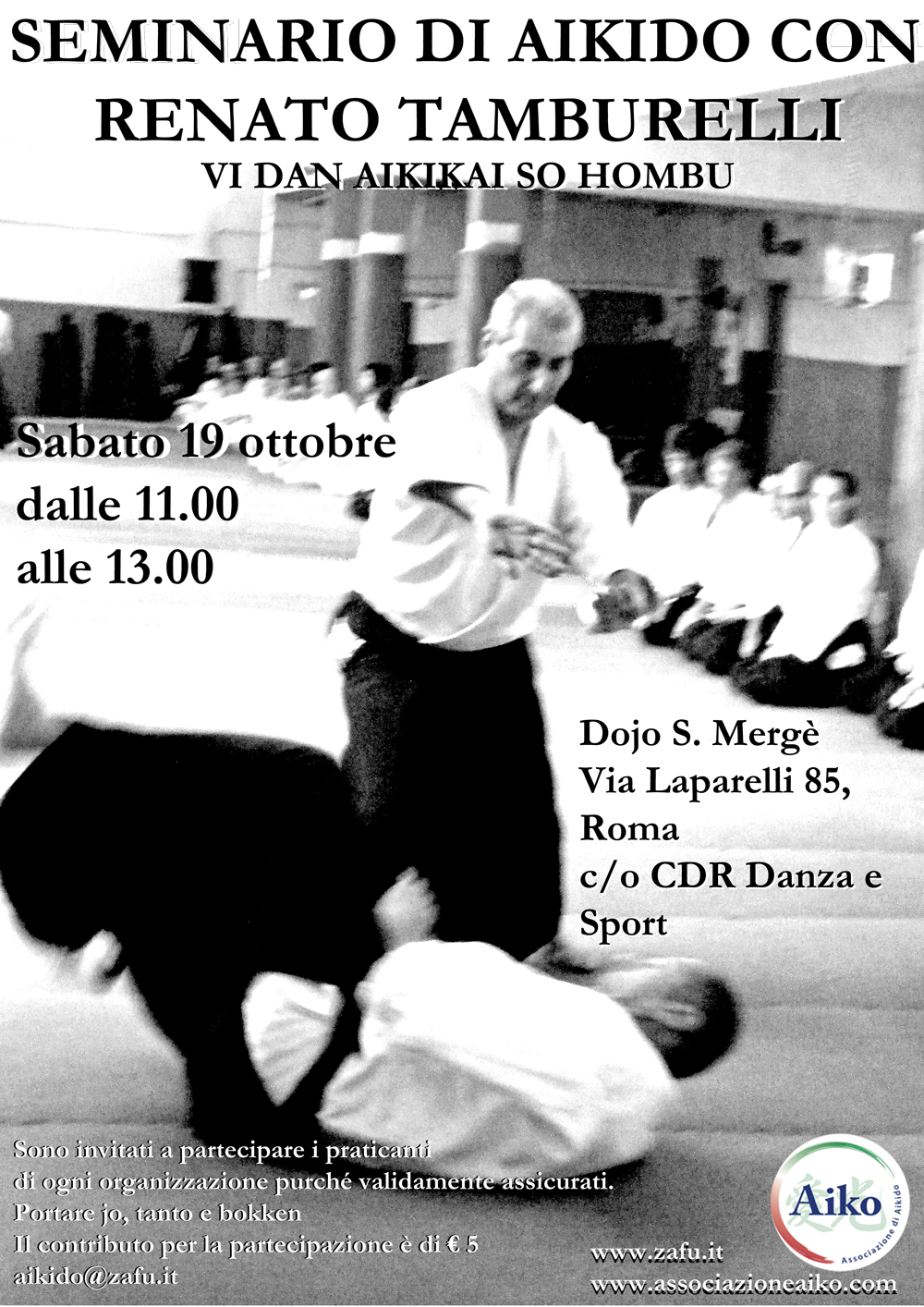 seminario aikido roma tamburelli