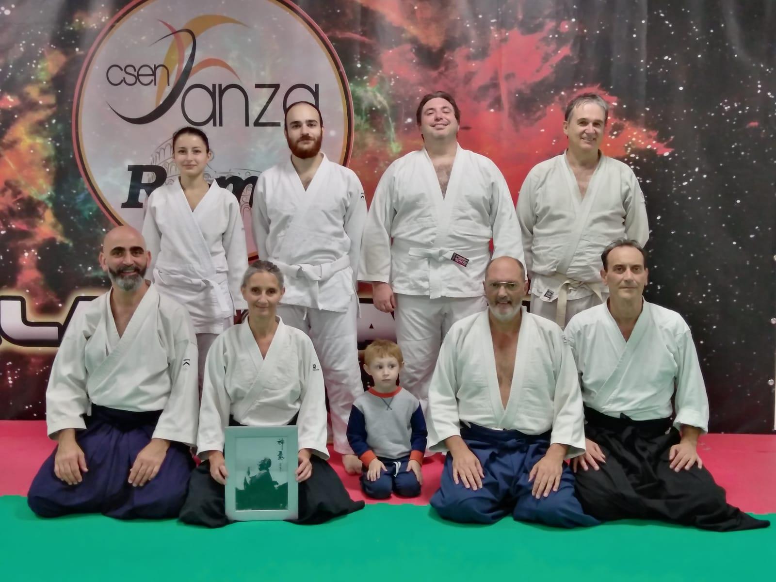 lezione aikido sabato