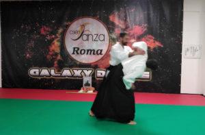 lezione aikido barbuto v dan