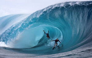 wipe out surfing